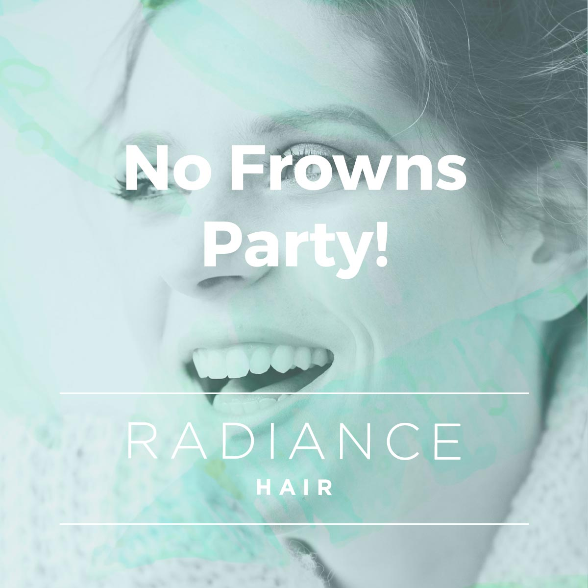 no frowns party